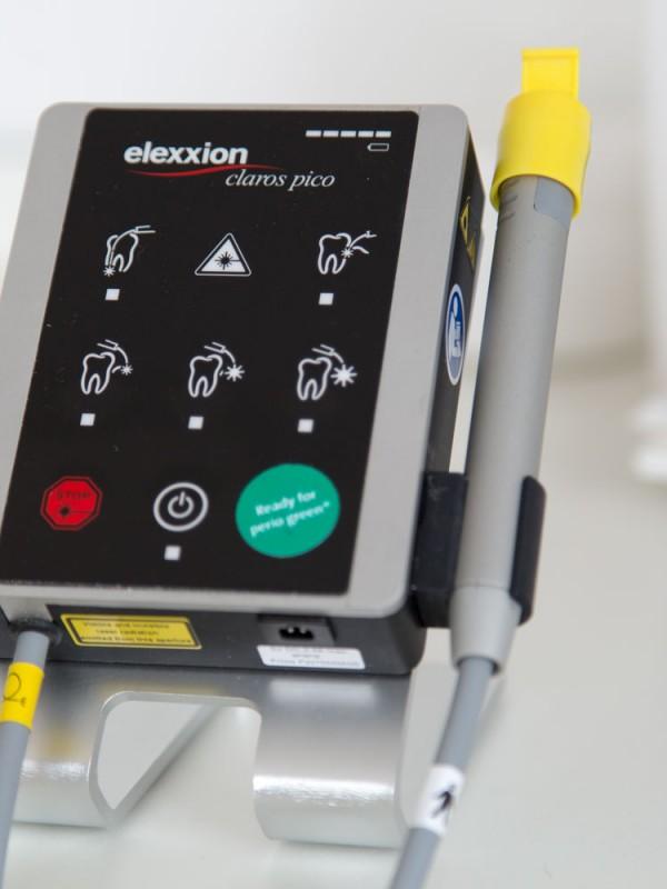 Lasertechnik im Einsatz